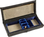 Oboe Reed Case Leather Holds Three Reeds