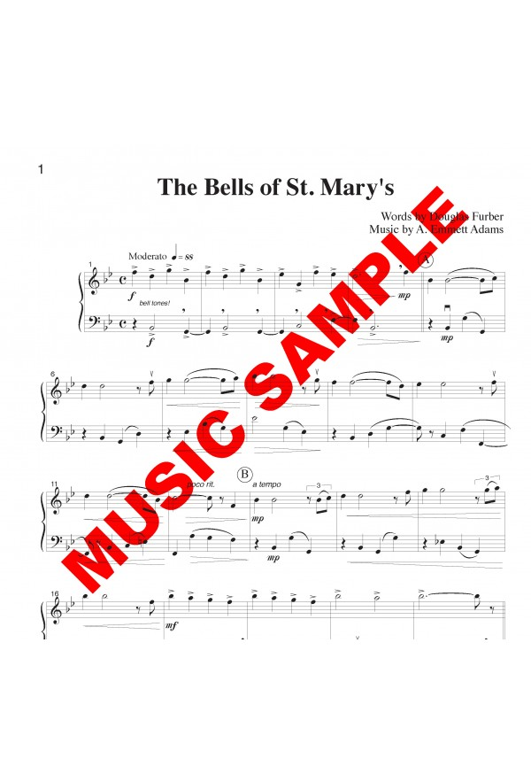 Bells of St. Mary's - Flute or Oboe or Violin & Cello or Bassoon