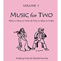 Music for Two Wedding Vol 1 oboes