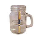 Glass Reed Soaker Cup with Handle