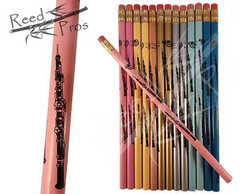 Oboe Pencils assorted colors