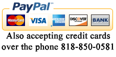 Phone in credit card orders