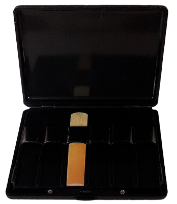 Clarinet Reed Case Black Plastic